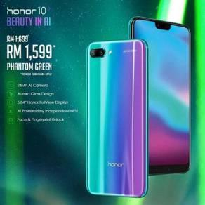 Terbaru ori Honor 10 Official Malaysia warranty