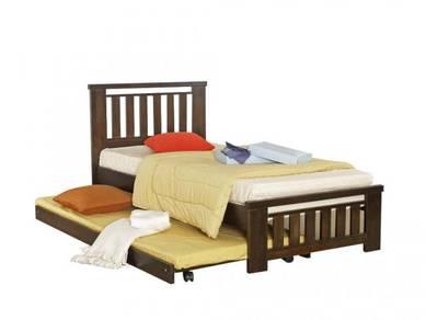 Katil kayu bed bedframe perabot furniture 426