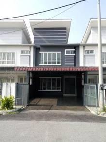 For sale 2 storey terrace house tmn desa restu salak tinggi