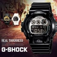 [Gunuine] Exclusive GShock DW-6900NB-1 Black