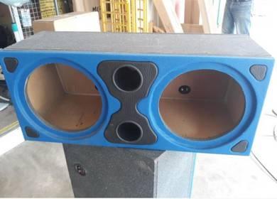 Box Speaker Kereta Double 12 inci