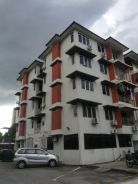 Taman Cemerlang Low Density Wall Up Apartment