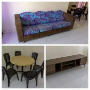Peaceful & Fully Furnished Cheng Ria apartment for rent (Direct Owner)