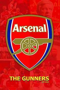 Arsenal fc logo poster