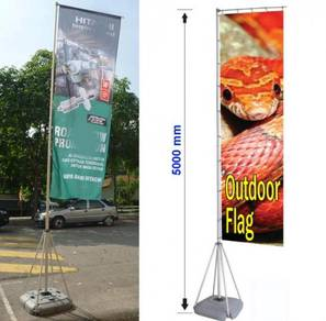 Outdoor Flag Pole 5 meter Height