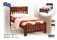 Wooden single bed frame (AR-9210) 22/05