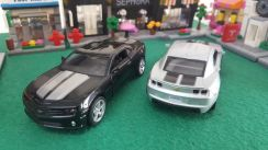 Chevrolet camaro ss diecast model