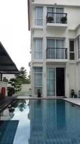 E&O 3 Storey Super Semi-D , 5600sf , Private Swimming Pool , Renovated
