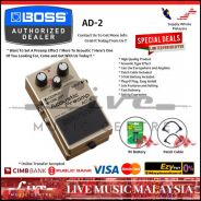 Boss AD-2 Acoustic Preamp Guitar Effect (AD2)