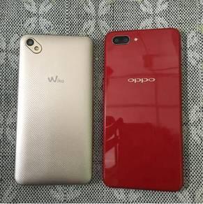 Oppo a3s & wiko sunny 2plus
