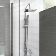 Italy Shower Post Set Stainless Steel 2 Function