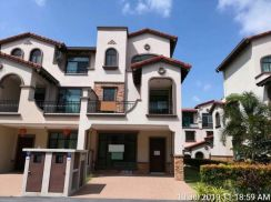 3 Storey Super Link House in Diamond Residence, Semenyih, Selangor