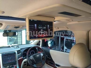 Toyota vellfire alphard oem roof monitor full hd 1