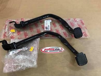 Padel rear brake black for y15z