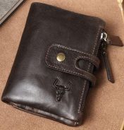 M.G Clan 100% Genuine Cow Leather Men's Wallet