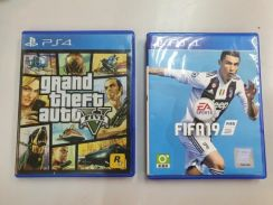 PS4 CD Game (PlayStation 4)
