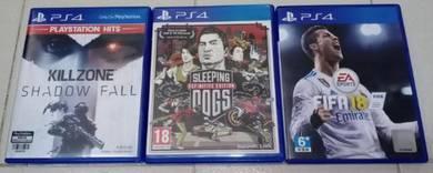 PS4 games (Ambil 3 games semua = 120)