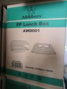 PP lunch box (600pcs/ctn) - New Items