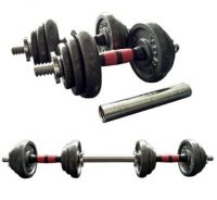 New 20kg Adjustable Iron Dumbbell (Free Connector)