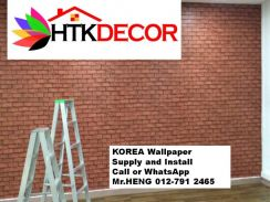 Sale and installation of Wall paper 59RJ