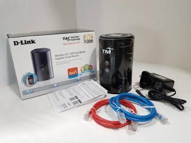Unifi Router D-Link DIR-850L AC1200 Dual-Band