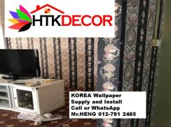 Sale and installation of Wall paper 59LK