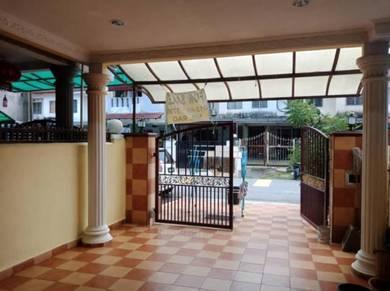 Freehold double storey taman permata hulu kelang for sale!