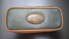 GUESS vintage watch travel case