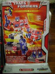 Transformers optimus prime 20th anniversary hasbro