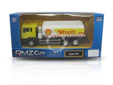 Miniature diecast model - MAN SHELL Oil Tanker