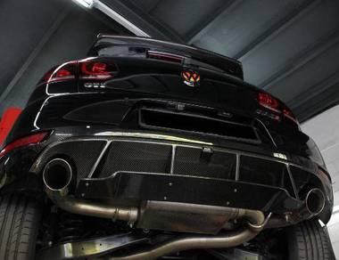 VW Golf MK6 GTi Rear Diffuser Bodykit Bumper
