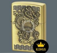 Zippo lighter dragon full