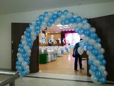 29)wedding balloon event