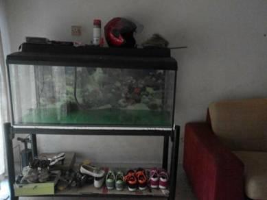 Aquarium untuk dijual.