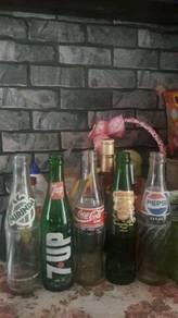 Botol Coca-Cola,Pepsi,Chiccapoo,7up utk dilepaskan