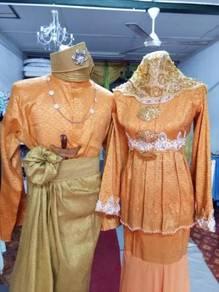 Baju Sanding Oren