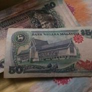 Old 50 ringgit currency for sale