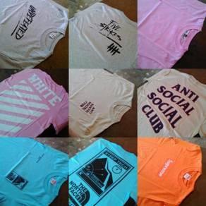 T-Shirt Skate (5 helai) New