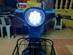 Electric Scooter (Blue)