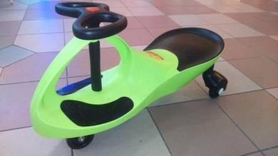 Yoyo car Green for kids jb offer