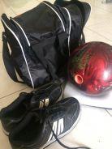 Bola bowling untuk dilepaskan