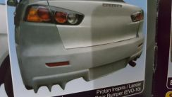 Rear Bumper Evo10 For Lancer inspira
