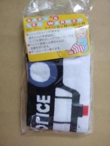 (WJ 0093)BB Hand/Leg Warmers Police Car, Set In 4