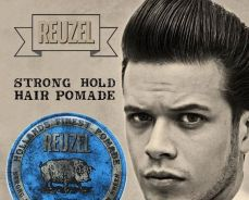 Reuzel Blue pomade Water Soluble strong hold new