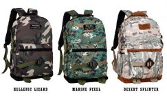 Camo Leisure Travel Casual Backpack Army new bag
