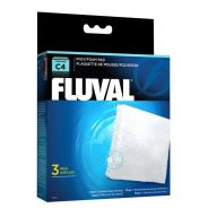 14010-Fluval C4 Poly/Foam Pad
