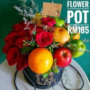 Chocolate Flower Fruit Bouquet