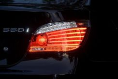 Oem bmw e60 lci facelift led tail lamp set