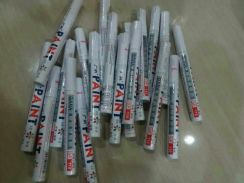 Tyre marker paint white