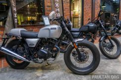 New Brixton Cafe Racer 150i No SST OLD STOCK